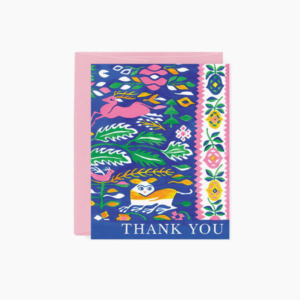TAPESTRY | Thank You card