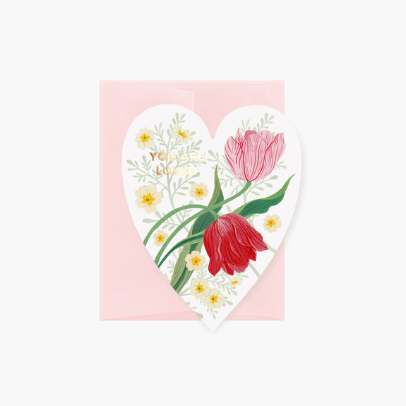 TULIPS | Die-Cut Card