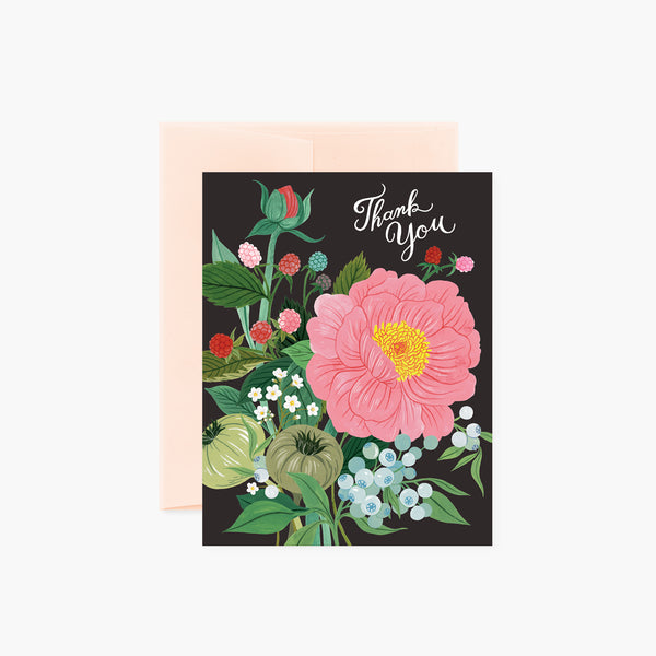 FLORA | Thank You card