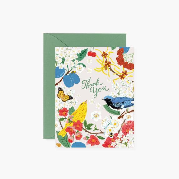 TREE CHATTER Thank You Card