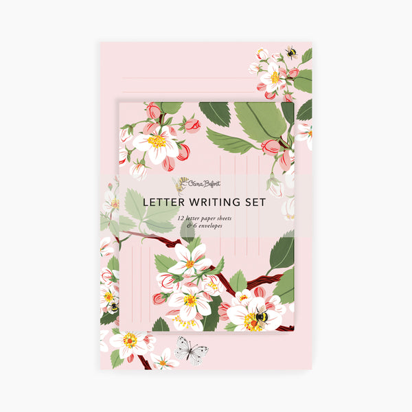 APPLE BLOSSOM | Letter Writing Set