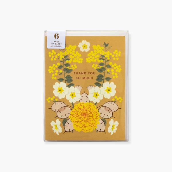 GRATITUDE | boxed pack of 6 cards & envelopes