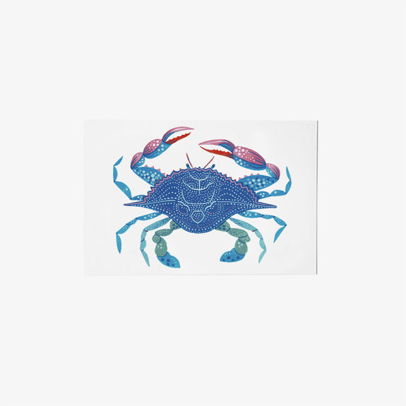 Blue Crab | single postcard