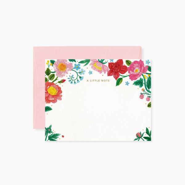 Wild Flowers Writing Set | 4 pack