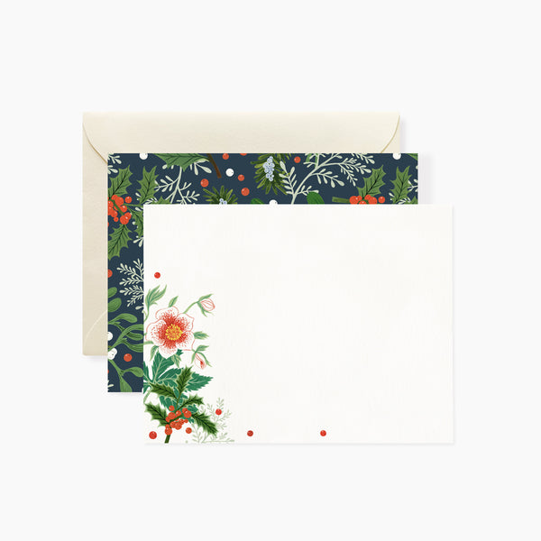 Christmas Rose Writing Set | 4 pack