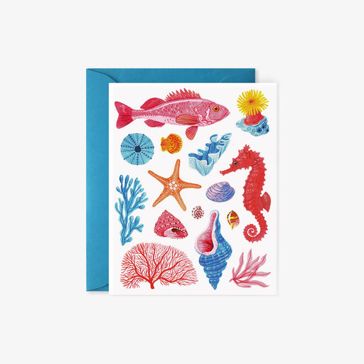 Sea Creatures card