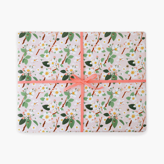 APPLE BLOSSOM | Gift Wrap Sheets
