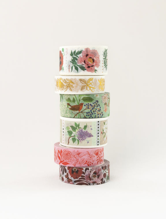 TREES | Perforated Washi Tape