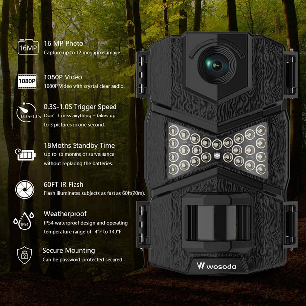 Wosports Hunting Range Finder, 650 Yards Archery Laser Rangefinder for Bow Hunting with Flagpole Lock - Ranging - Speed and Scan