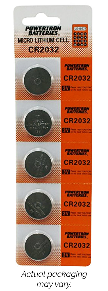 CR2032 Batteries 5-Pack