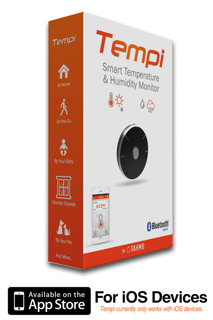 Tempi - Smart Temperature & Humidity Monitor