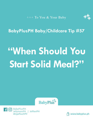 When Should You Start Solid Meal?