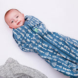 ergoPouch Cocoon Swaddle Bag (1.0 Tog) - Midnight Arrows