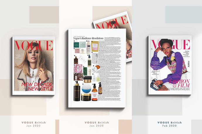 Mellow Naturals British VOGUE Feature 2020