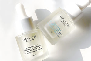 Mellow Naturals #mellowcosmetics #naturalskincare #skincare face oil #serum