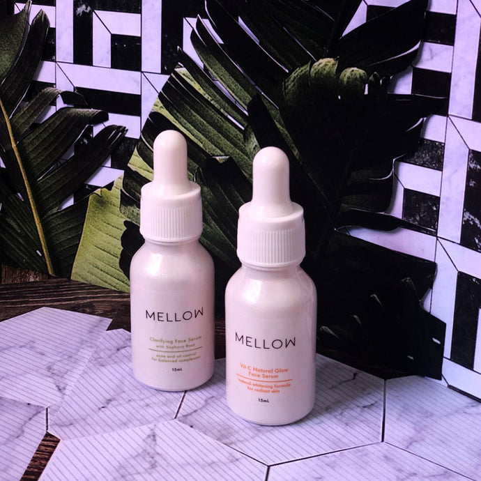 Clarifying Face Serum &  Vit C Serum | Review by Nat's Skincare & Beauty