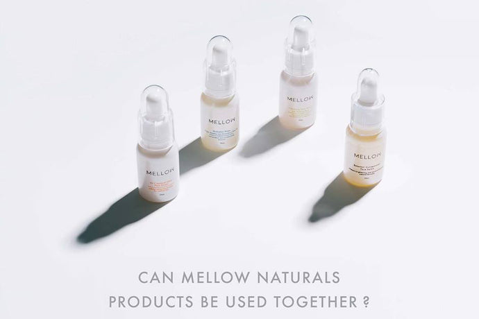 Can Mellow Naturals Products Be Used Together?