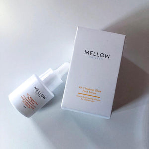 Mellow Naturals Skin care natural Vit C Serum face care mellowcosmetics