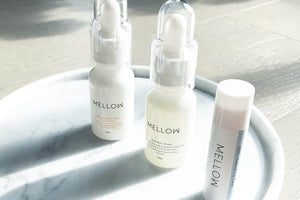 Mellow Naturals natural skin care face serum clean beauty skin care