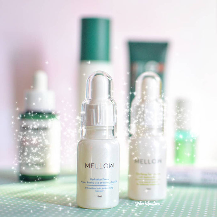 Clarifying Face Serum & Hydration Drops | Review by Dorkification
