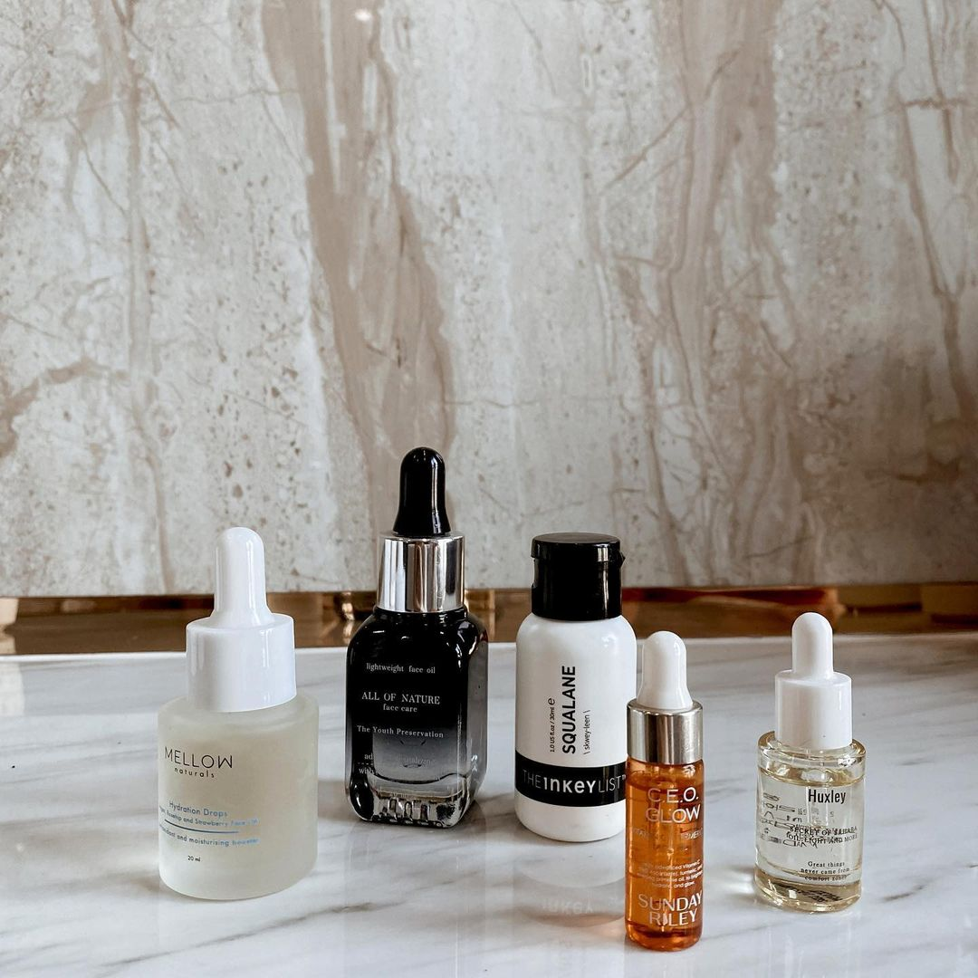 hydration drops face oil