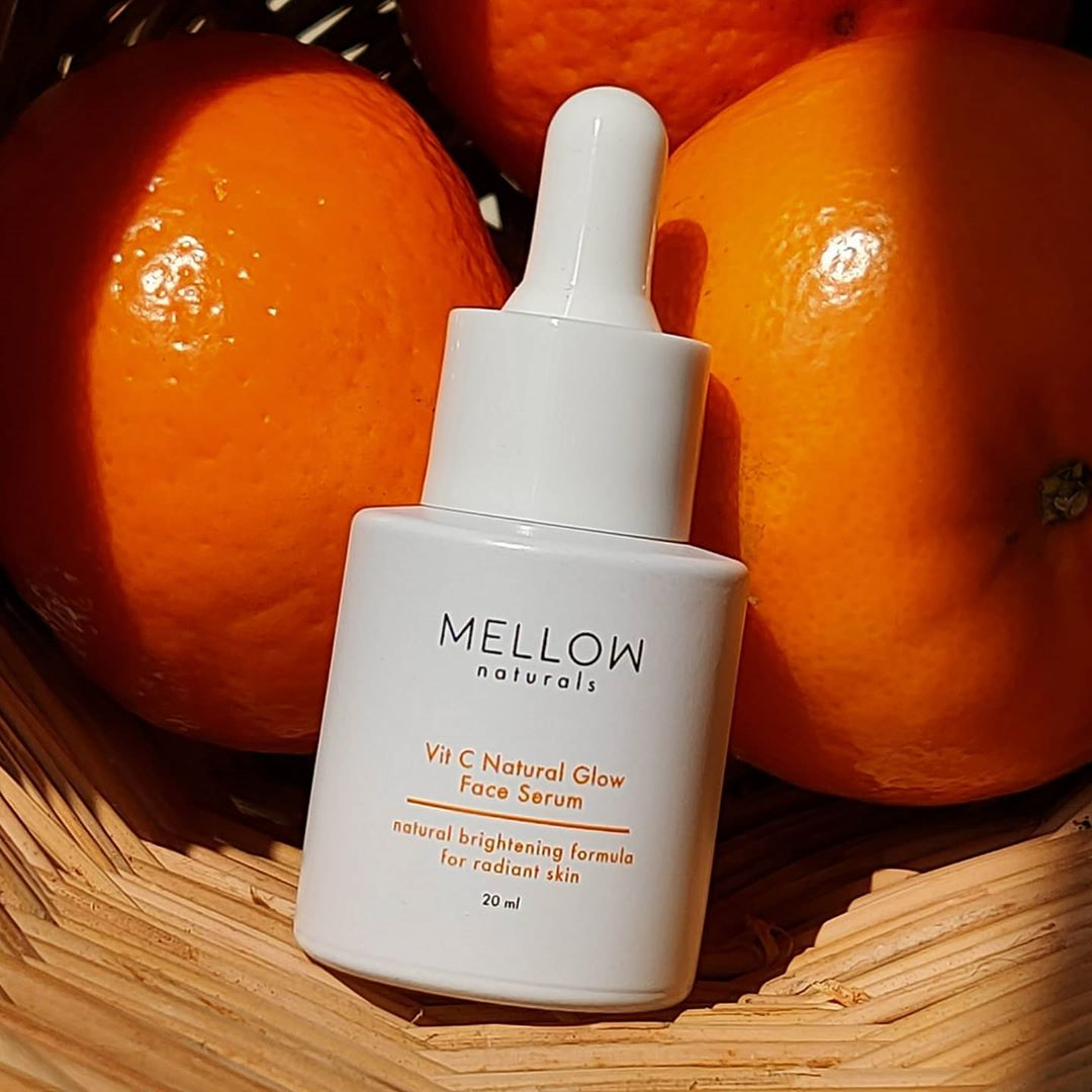 Mellow Naturals skin care vit C serum
