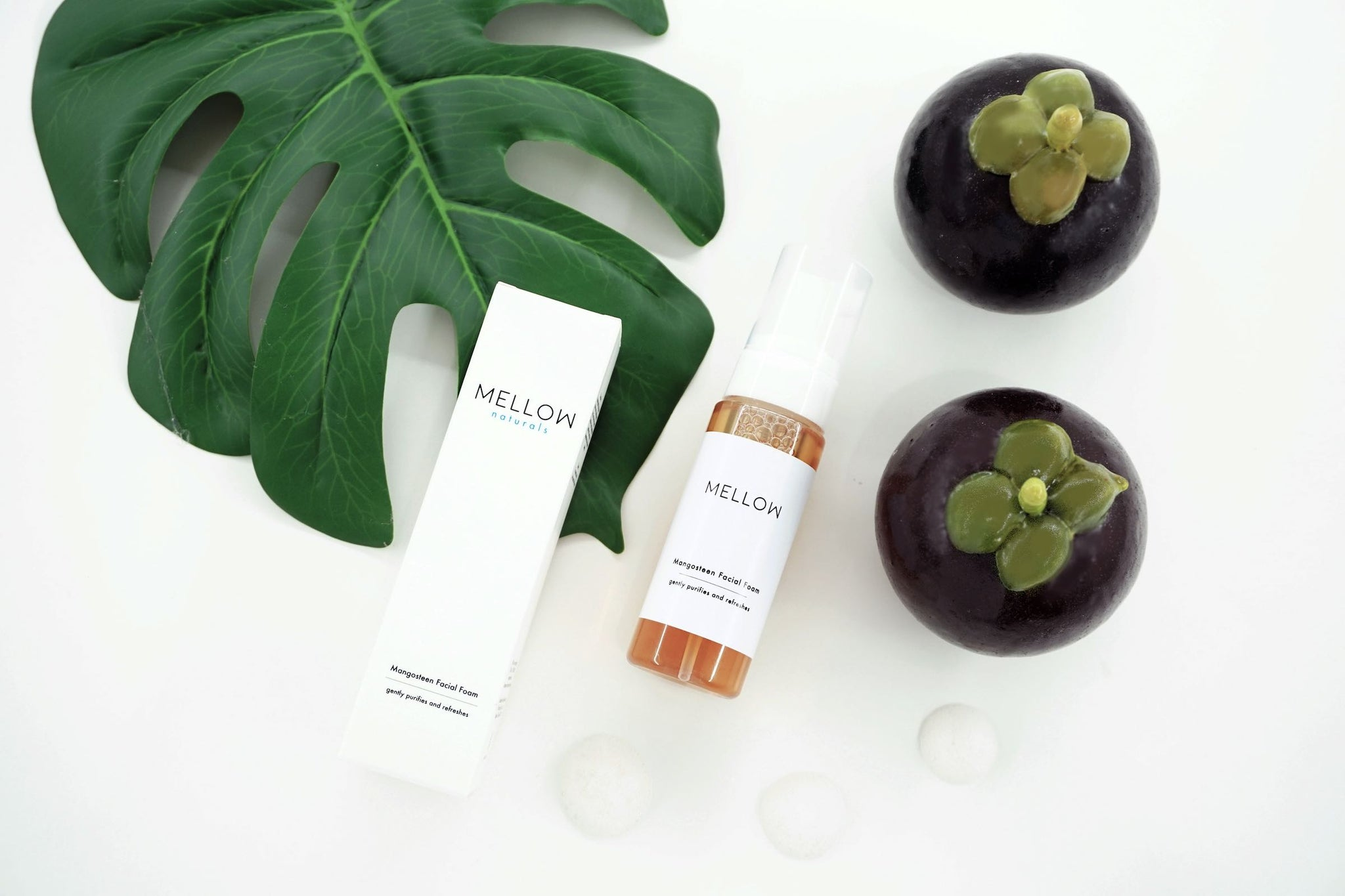 natural mangosteen facial foam