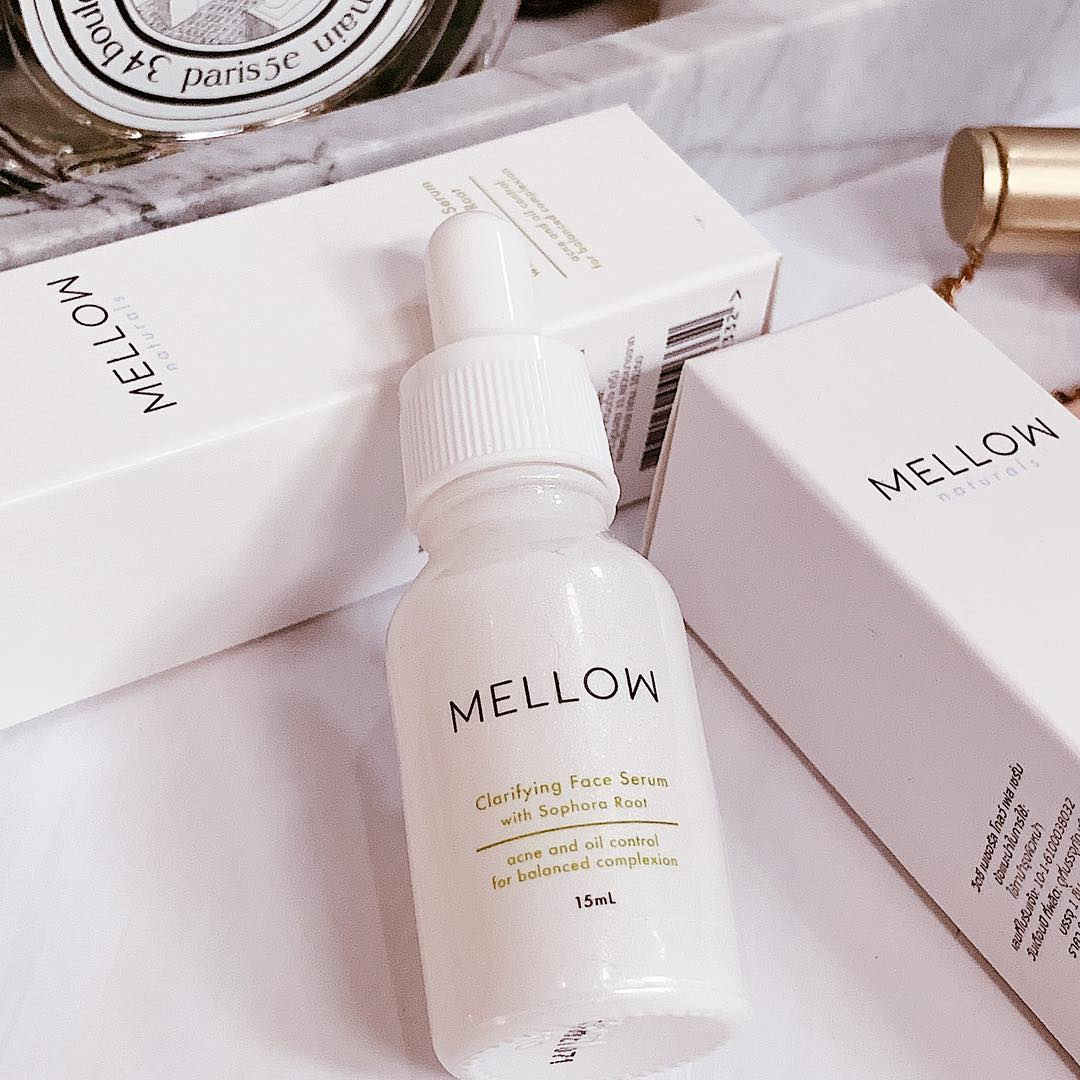 Mellow Naturals clarifying face serum