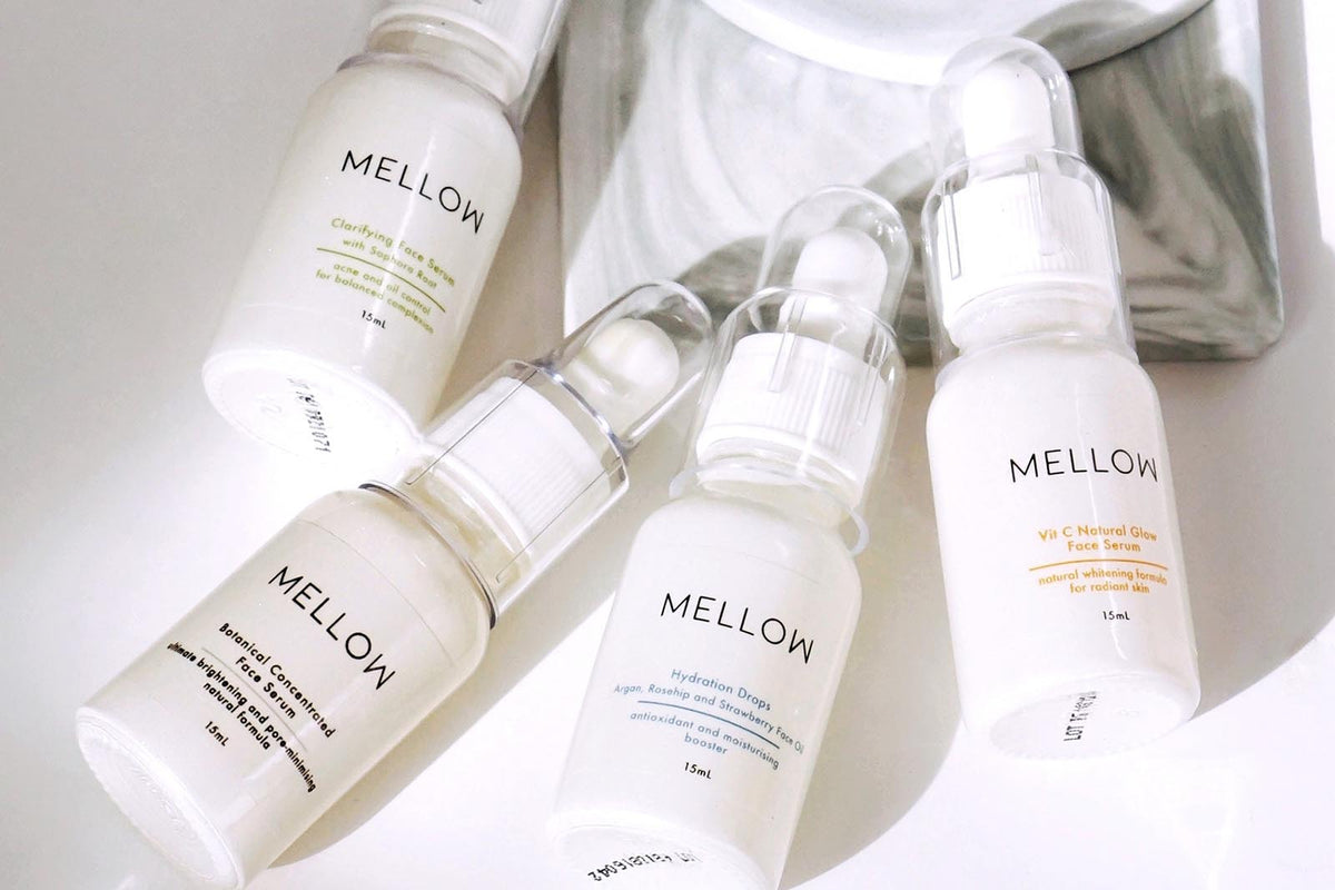 Mellow Naturals Skin Care Face Collection