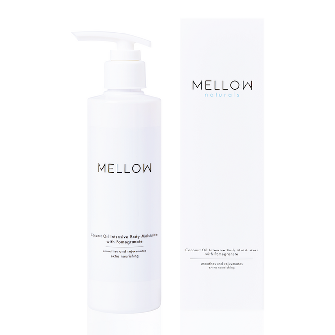 Mellow Naturals Skin care Coconut Oil Pomegranate Body Moisturiser