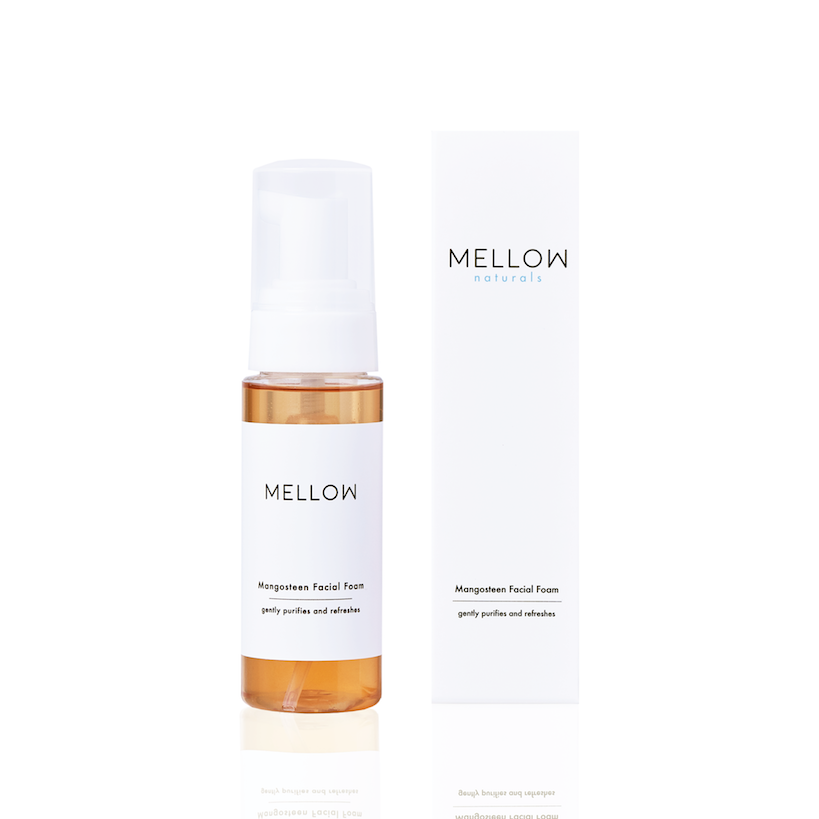 Mellow Naturals Skin Care Mangosteen Facial Foam