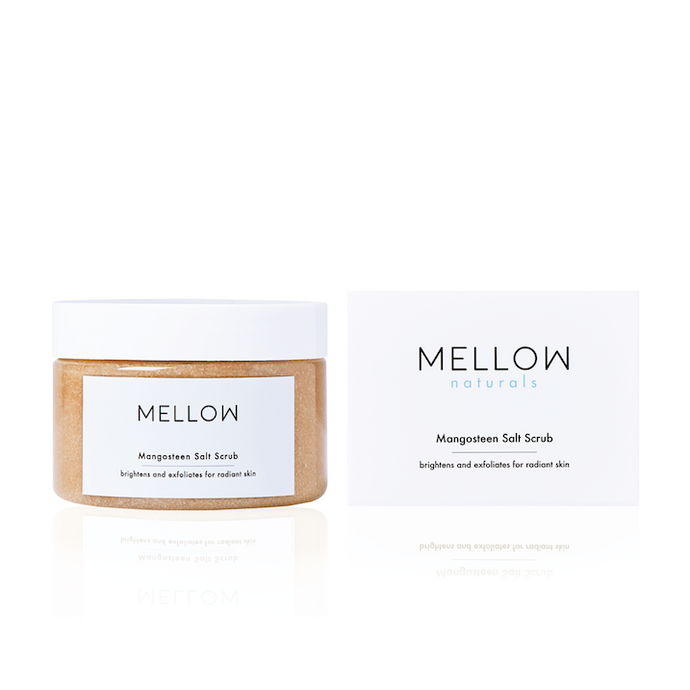 Mellow Naturals Skin Care Mangosteen Salt Scrub