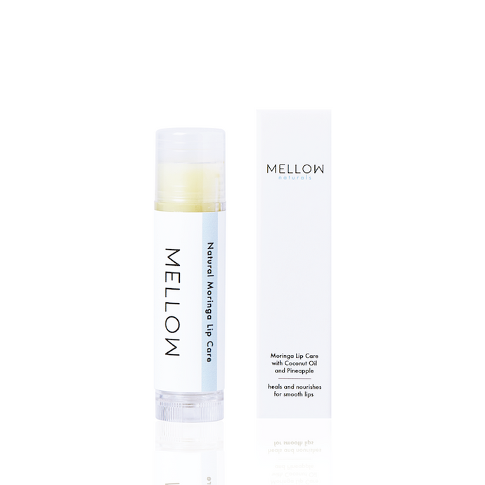 Mellow Naturals Skin Care Moringa Coconut Oil Pineapple Lip Care