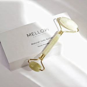 Mellow Naturals Jade Roller natural facial therapy tool