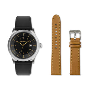 Gilt Field Watch - Double Strap Set