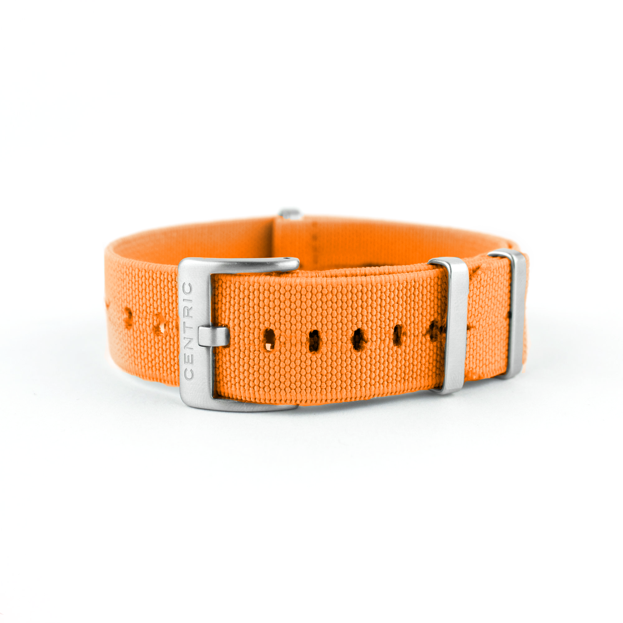 Elastic Nylon Strap - Safety Orange