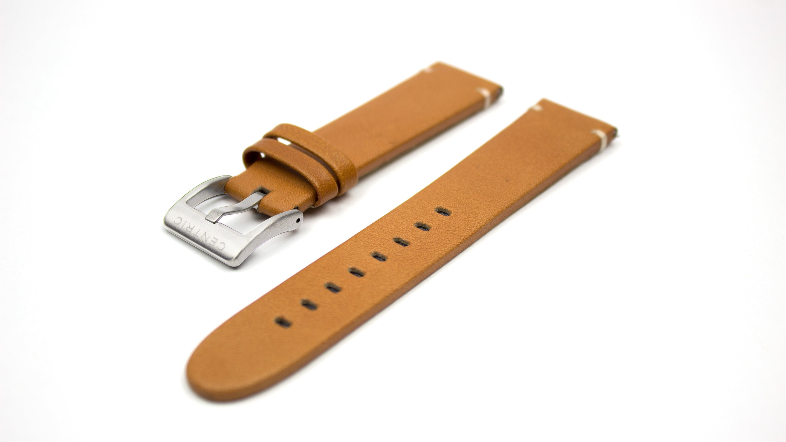 Modern Leather Strap - Tan