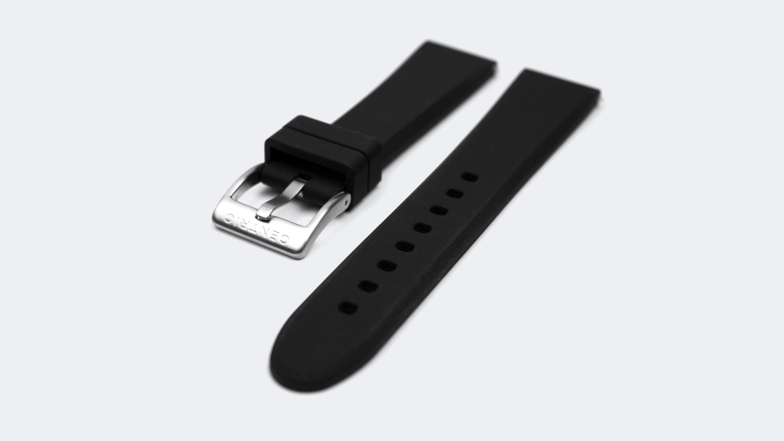 Field Watch Mark I (Ivory) - Silicone Rubber Strap