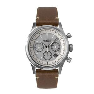 Pilot Chronograph Modern (Ivory) - Modern Leather