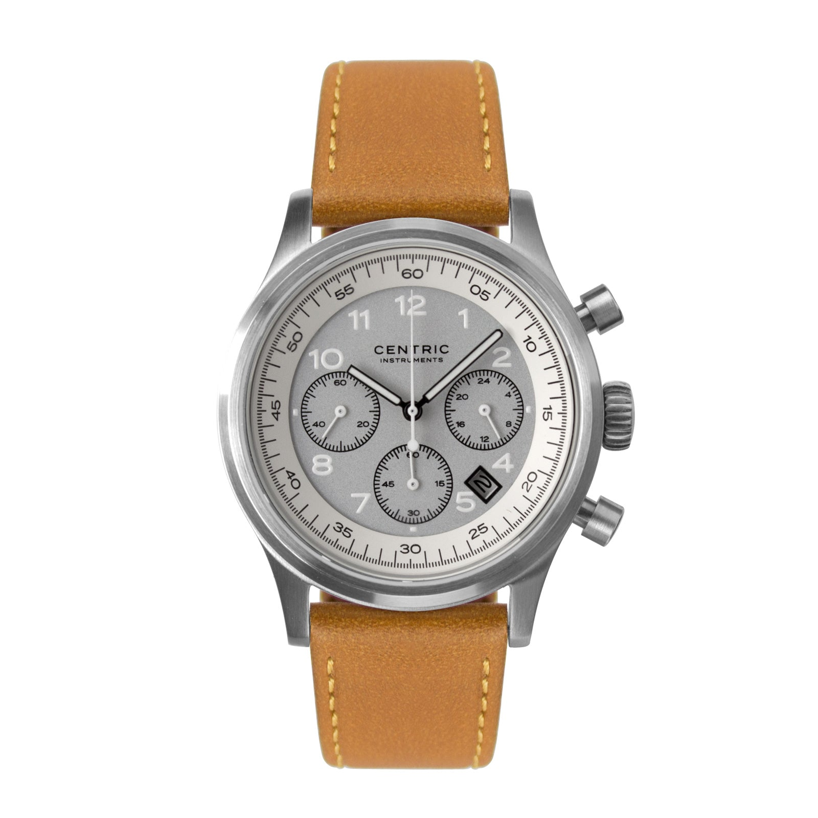 Pilot Chronograph Classic (Ivory) - Classic Leather