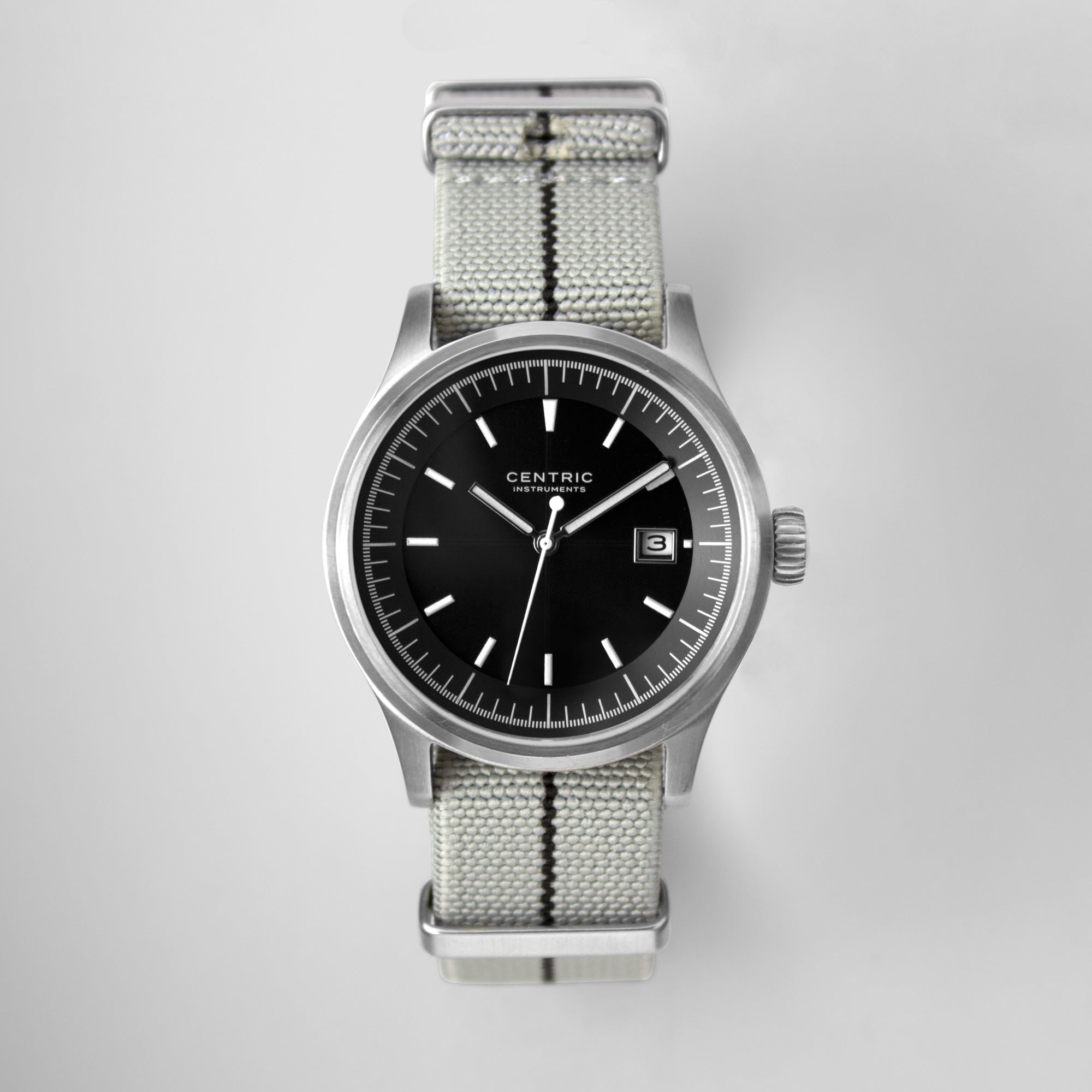 Field Watch MkII Modern (Black) - Nylon Strap