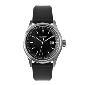 Field Watch MkII Modern (Black) - Silicone Strap
