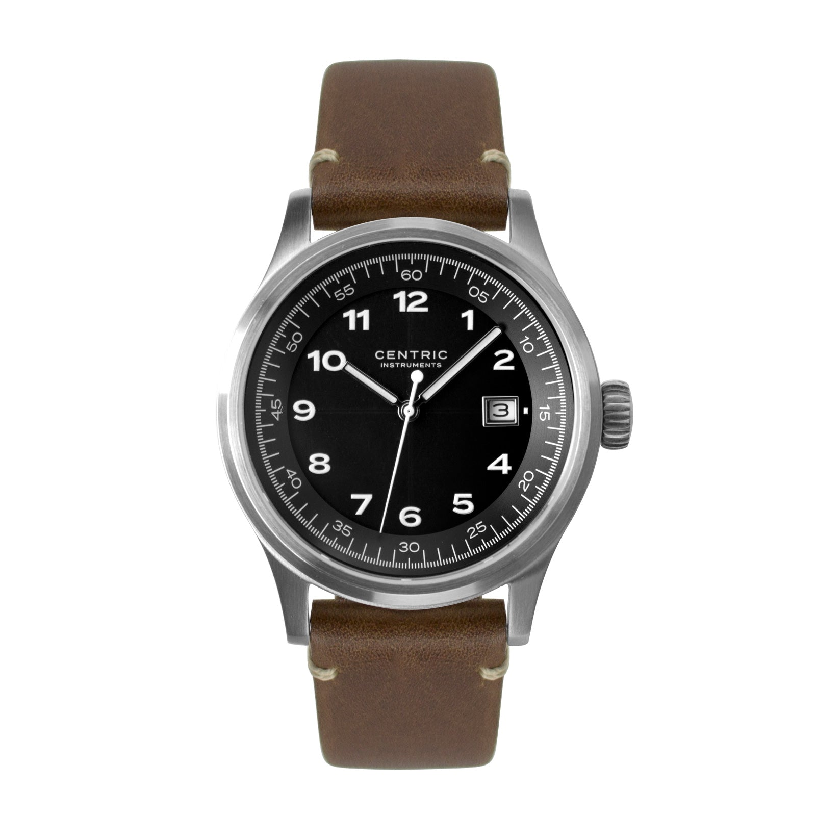 Field Watch MkII Classic (Black) - Modern Leather