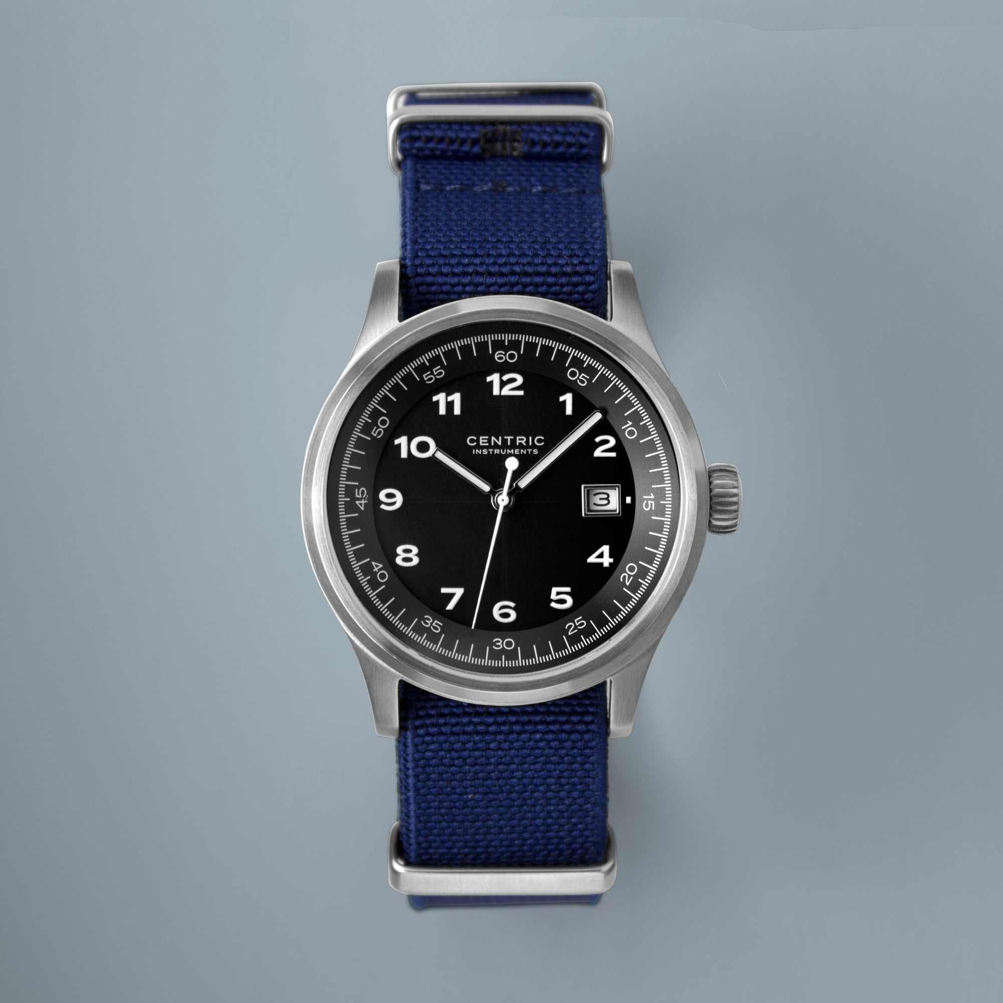 Field Watch MkII Classic (Black) - Nylon Strap