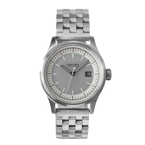 Field Watch MkII Modern (Ivory) - Steel Bracelet