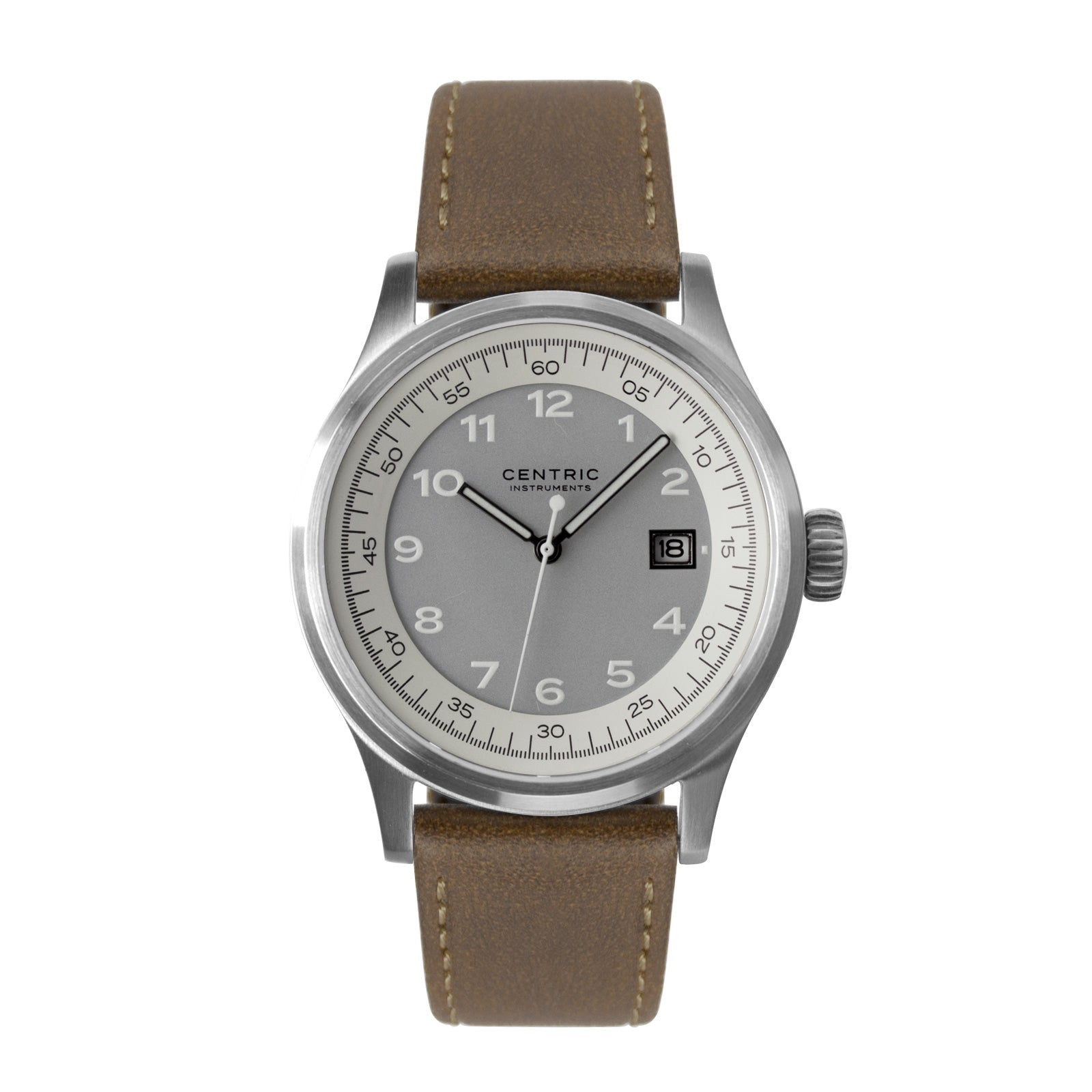 Field Watch MkII Classic (Ivory) - Classic Leather
