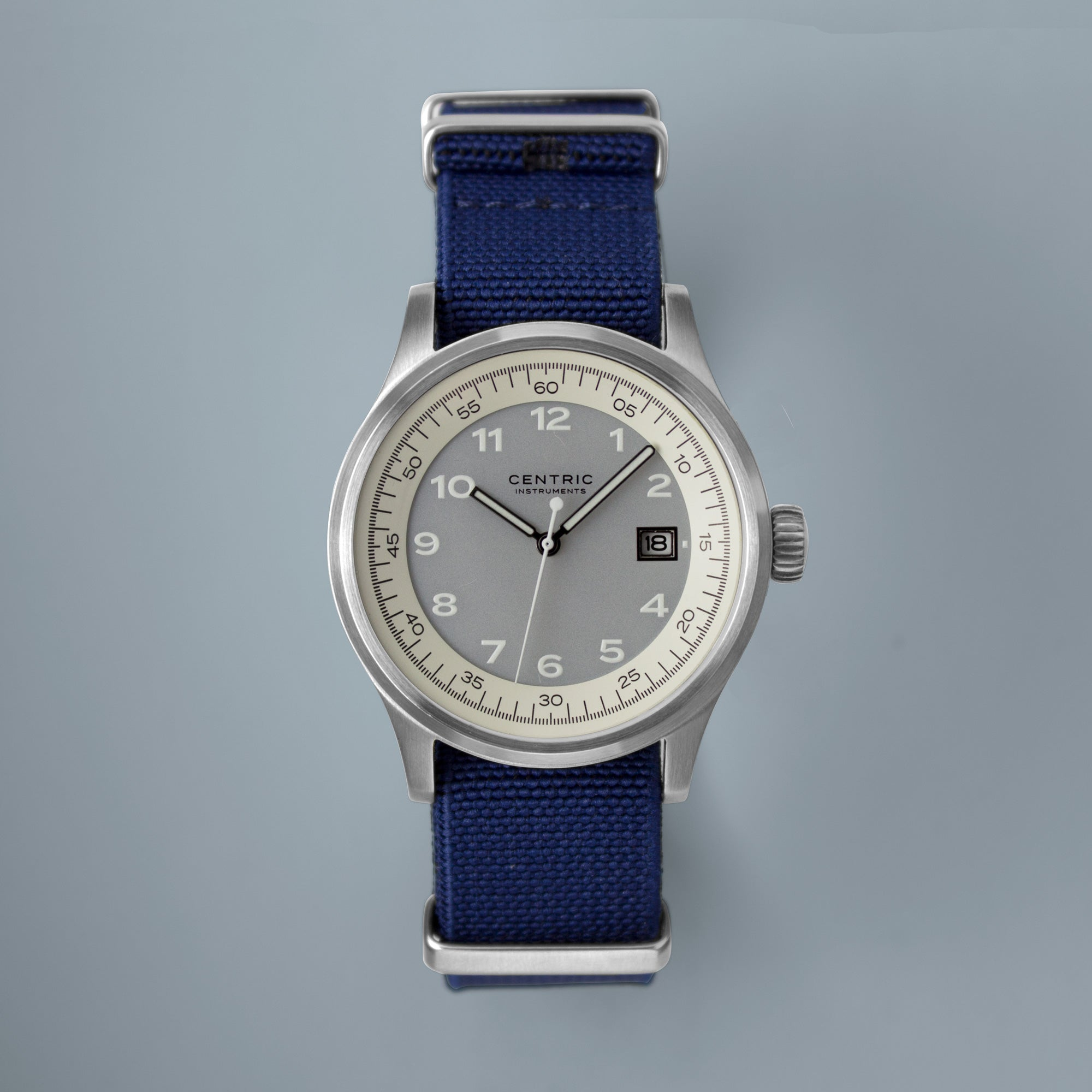 Field Watch MkII Classic (Ivory) - Nylon Strap