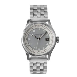 Field Watch MkII Classic (Ivory) - Steel Bracelet