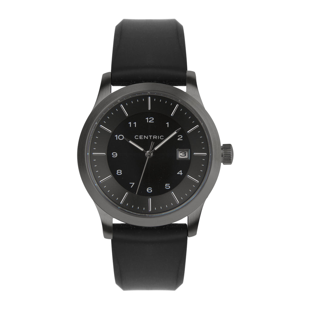 Gunmetal Field Watch Set (2 Straps)