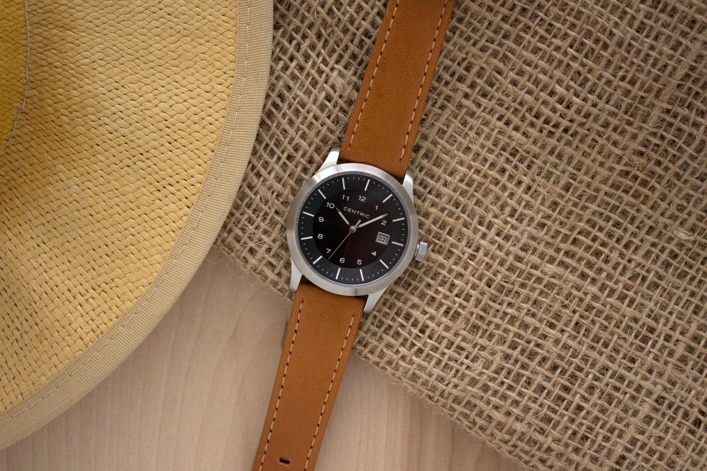 Classic Leather Strap - Tan
